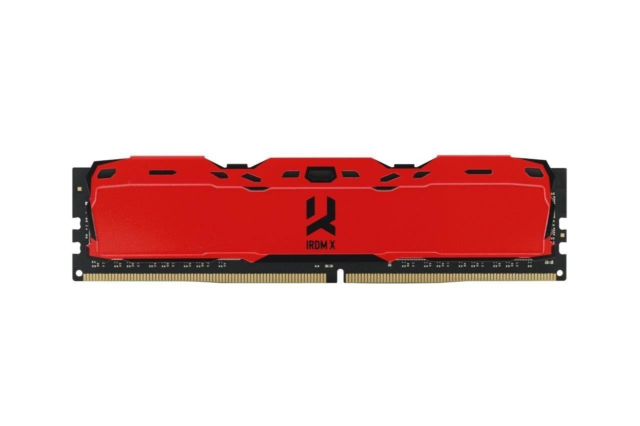 GoodRam DIMM DDR4 8GB 3000MHz CL16 SR IRDM, red