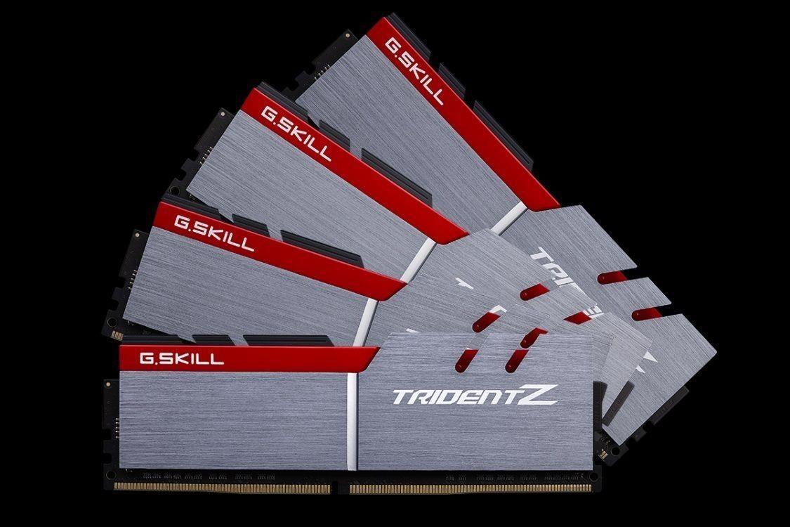 GSkill TridentZ Series - DDR4 - 32 GB: 4 x 8 GB - DIMM 288-PIN - ungepuffert
