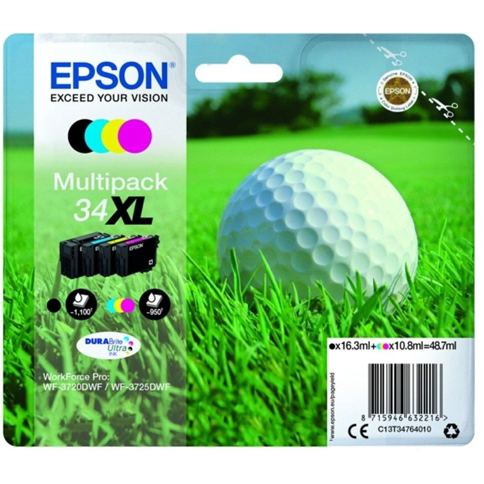 Epson Multipack T3476 16.3ml+3x10.8ml do WF-3720DWF