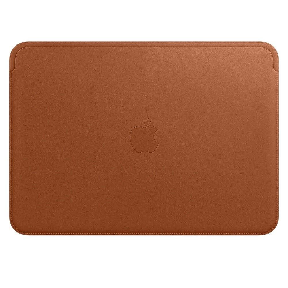 Apple Leather Sleeve MacBook Saddle Brown