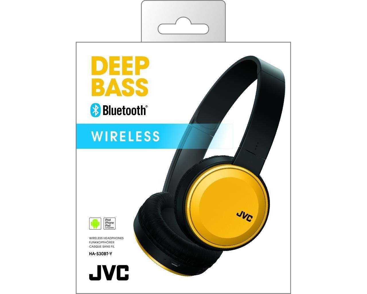 JVC HA-S30BT żółte