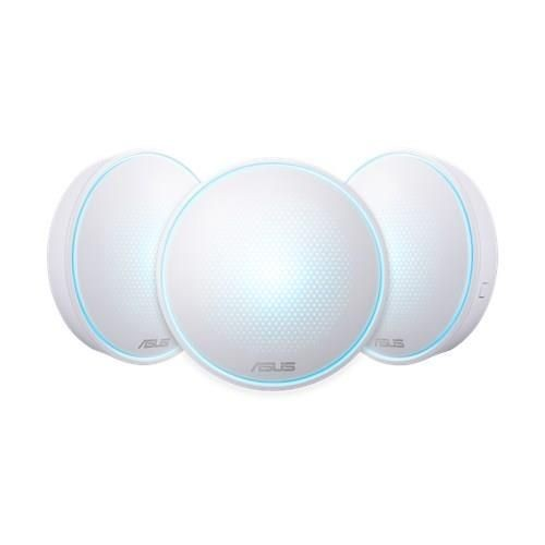 Asus MAP-AC1300 (3-Pack) MAP-AC1300 (LYRA MINI) Complete Home Wi-Fi Mesh Wireless AC1300 3-pack