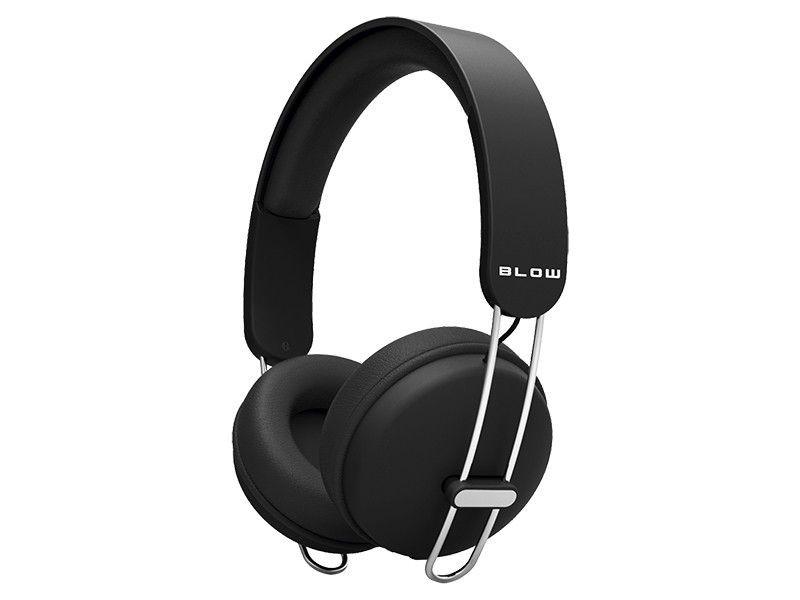 BLOW Słuchawki HDX200 czarne nagłowne