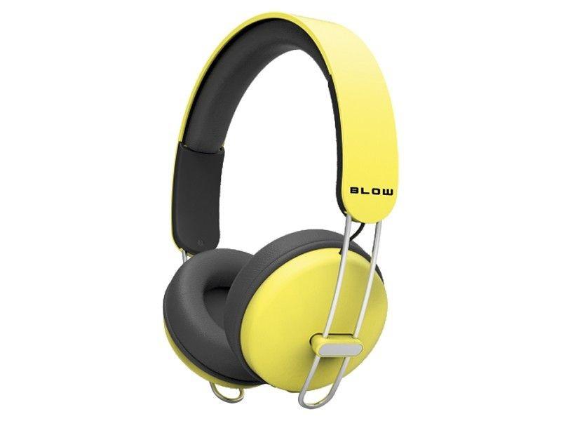BLOW 32-792# Headphones HDX200 YELLOW