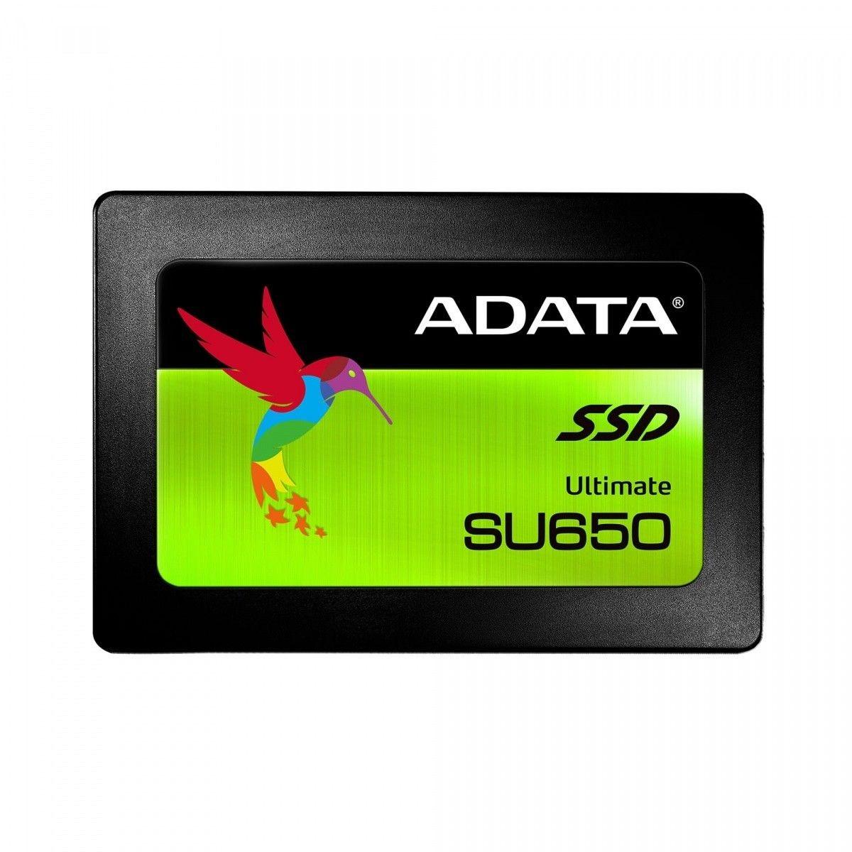 A-Data ADATA SSD 480GB Ultimate SP650SS 2,5 SATA III 6Gb/s (R:520/ W:450MB/s)