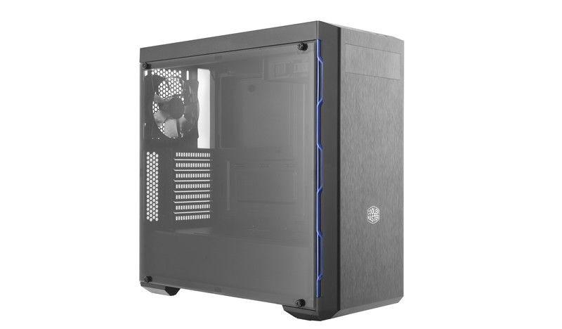 Cooler Master Obudowa MasterBox MB600L czarno-niebieska