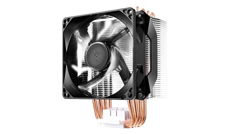 Cooler Master Wentylator CPU Hyper H411R LED biały