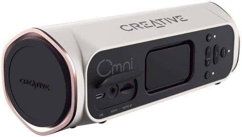 Creative Głośnik bezprzewodowy OMNI Bluetooth WIFI biały