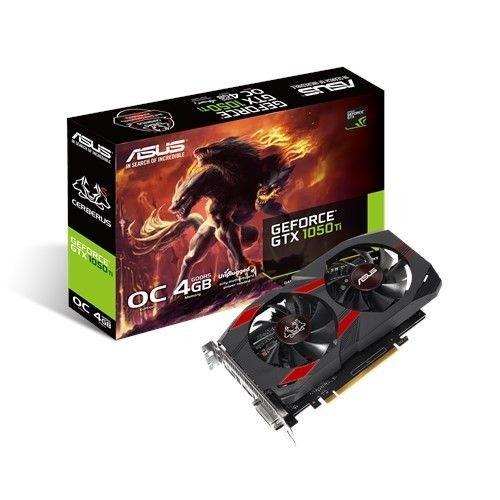 Asus Karta graficzna GeForce GTX 1050 TI 4GB GDDR5 128BIT DVI/HDMI/DP