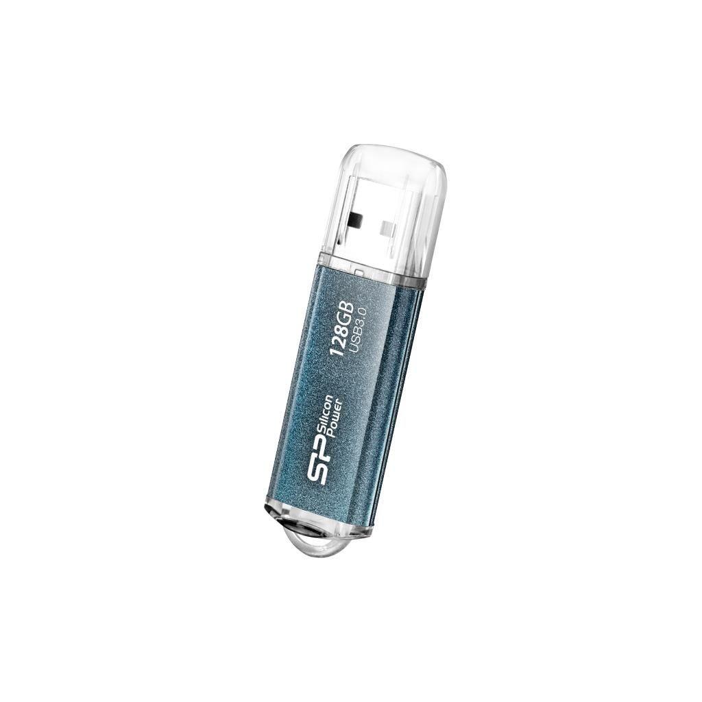 Silicon-Power SILICON POWER Pamięć USB Marvel M01 128GB USB 3.0 Niebieska