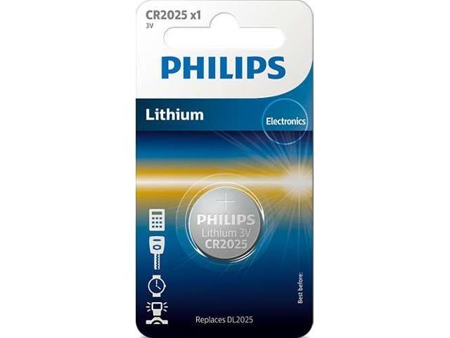 Philips Bateria Lithium 3.0V coin 1 blister (20x2.5)