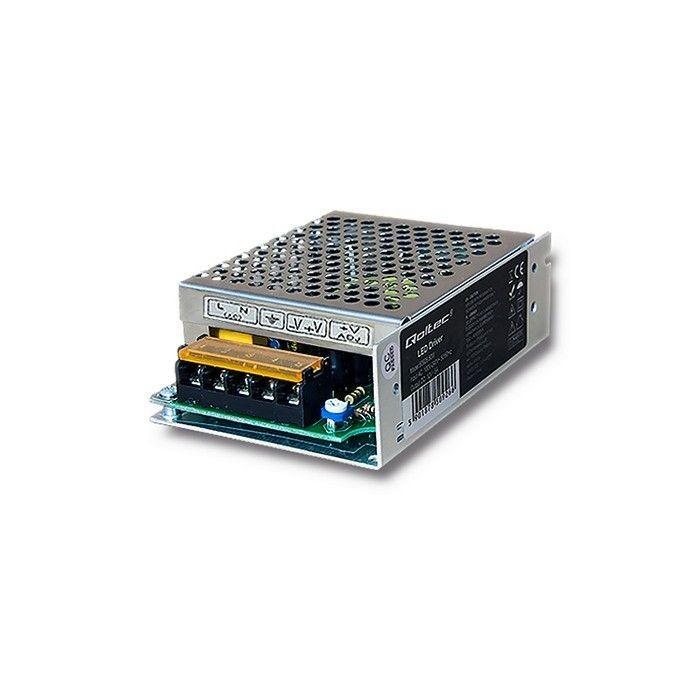 Qoltec Zasilacz LED Driver   100-240V   IP20   60W   12V   5A