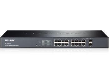 TP-Link TPLINK T1600G-18TS(TL-SG2216) T1600G-18TS JetStream16-Port Gigabit Smart Switch with 2 Combo SFP Slots