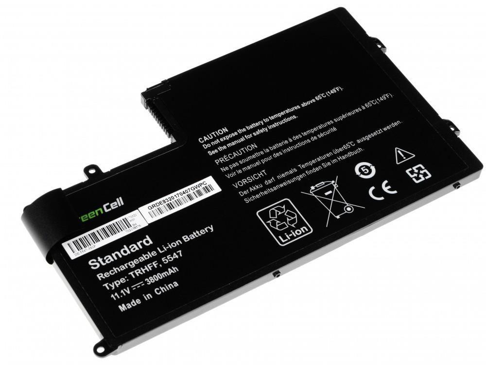 Green Cell Bateria do Dell 15 5542 TRHFF 11,1V 3,8Ah