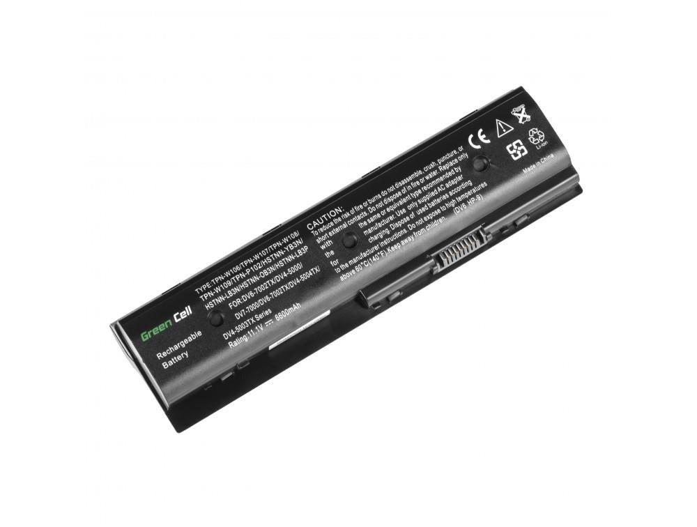 Green Cell Bateria HP Pavilion DV6-7000 11,1V 6,6Ah