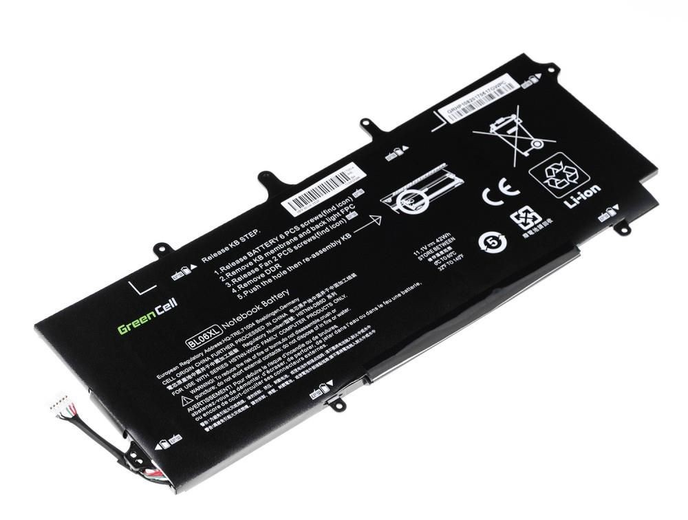 Green Cell Bateria do HP Folio 1040 BL06XL 11,1V 3,1Ah