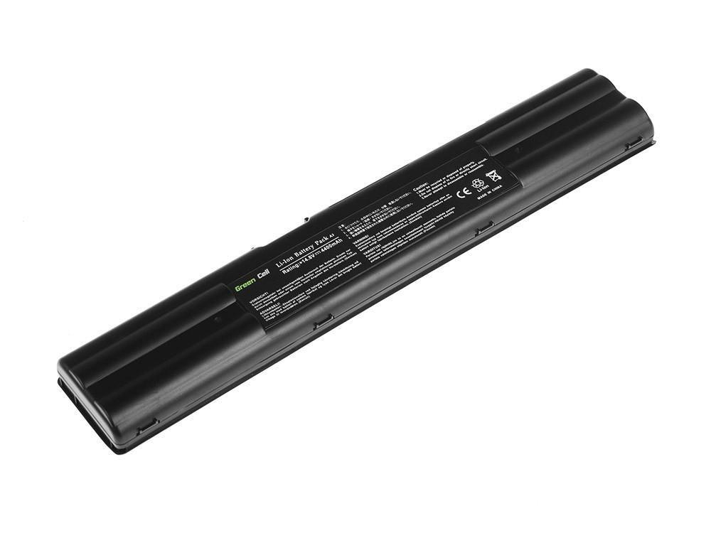 Green Cell GREENCELL AS11 Bateria akumulator do laptopa Asus A3000 A3 A3E A6000 A6 A7 Z91 A42-A