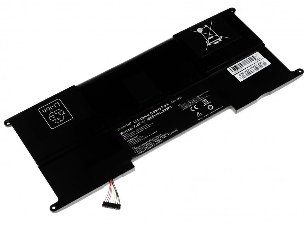 Green Cell Bateria do Asus UX21 C23-UX21 7,4V 4,8Ah