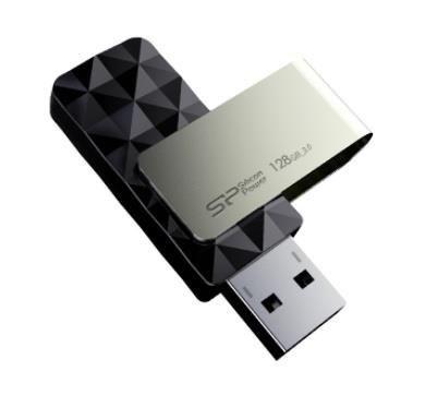 Silicon-Power SILICON POWER Pamięć USB Blaze B30 128GB USB 3.0 Czarna