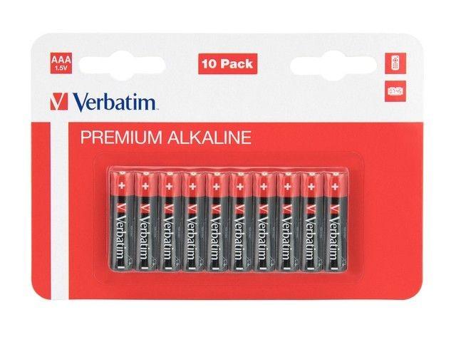 Verbatim Bateria Alkaliczna LR3 (AAA)(10szt. blister)