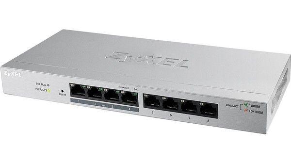 ZyXEL GS1200-8 8Port Gigabit webmanaged Switch GS1200-8-EU0101F