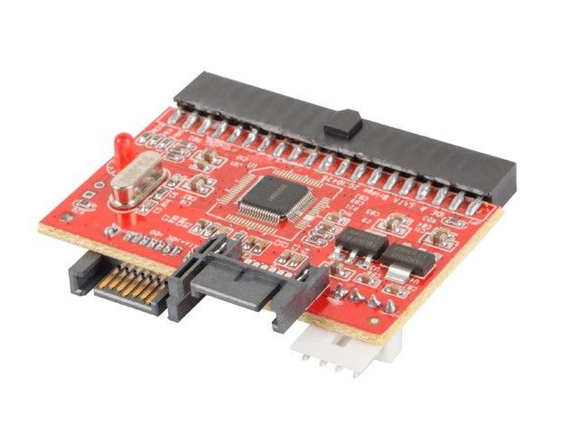 LANBERG AD-0022-BK Lanberg adapter SATA->IDE & IDE->SATA