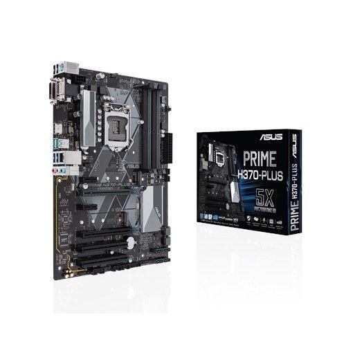 Asus PRIME H370-PLUS PRIME H370-PLUS, LGA1151 H370 ATX