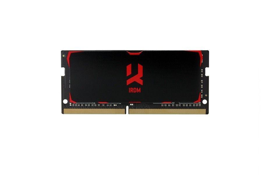 GoodRam SODIMM DDR4 8GB 2400MHz CL15 SR IRDM, black