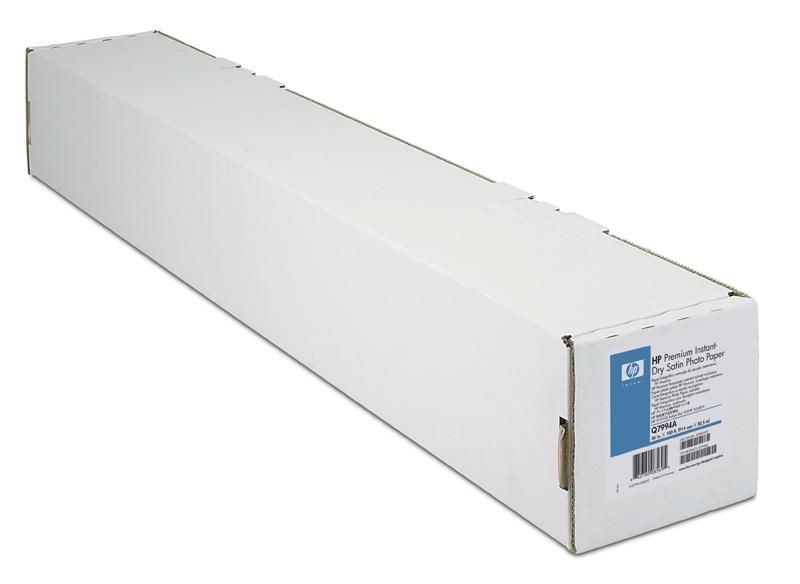 HP Premium Instant-dry Satin Photo Paper (260g, rola 36'')