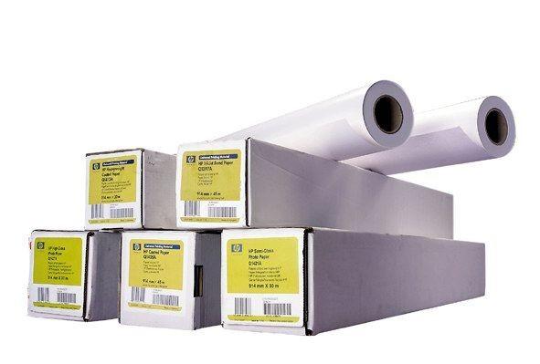 HP Papier White Inkjet Bond Paper Universal,841mm,91 m,80 g/m2