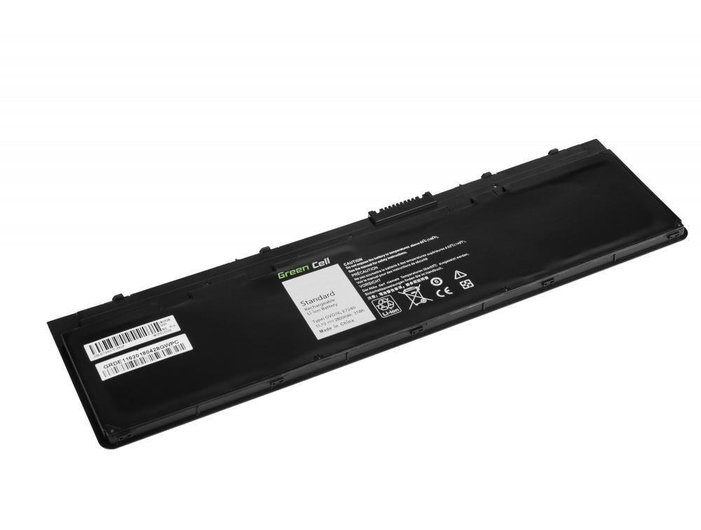 Green Cell Bateria do notebooka Dell Latitude E7240 E7250 E7450 4 cell 11,1V