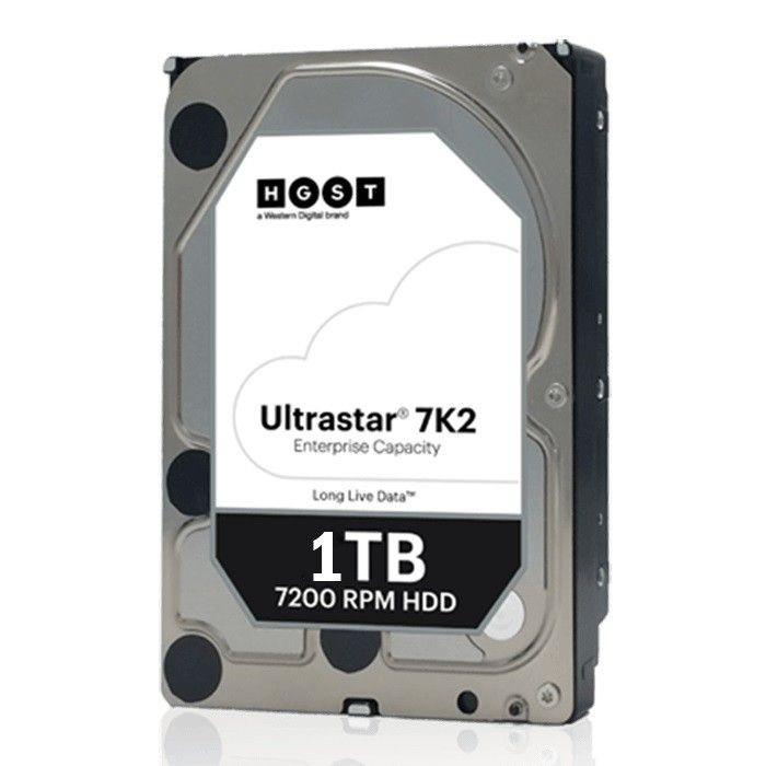 "Hitachi Dysk HDD HGST - WD Company Ultrastar DC HA210 1TB 3.5"" 128MB"