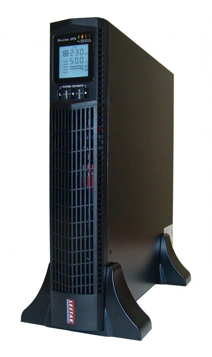 Lestar Zasilacz awaryjny UPS MEPRTII-1000 1000VA/ 900W PF 0.9 ON-LINE LCD RT 6XIEC USB RS232 RJ45 EPO
