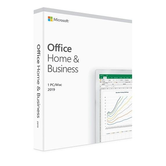 Microsoft Office Home & Business 2019 PL Win/Mac 32/64bit T5D-03205. Zastępuje P/N:T5D-02786