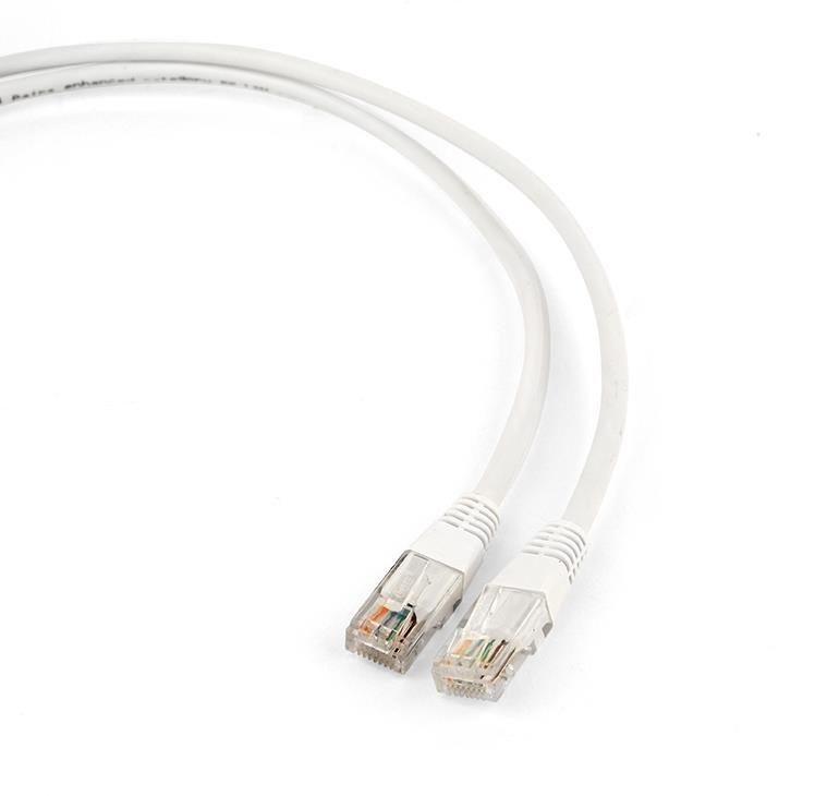 Gembird Patch cord 1m CAT5e UTP biały
