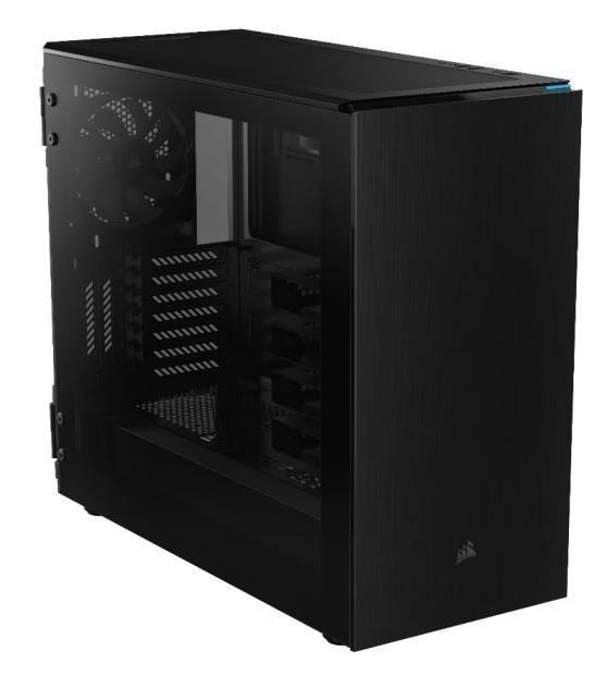 Corsair obudowa komputerowa Carbide Series? 678C Low Noise ATX TG czarna