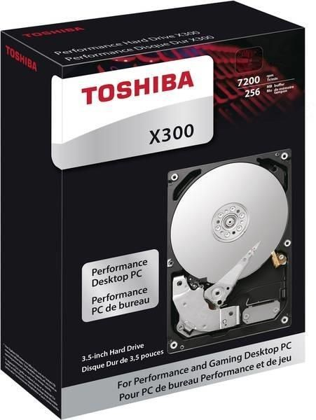 Toshiba HDWR21EEZSTA Dysk twardy X300, 3.5, 14TB, SATA/600, 7200RPM, 256MB cache, BOX