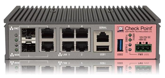 Check Point 1200R Next Generation Threat Prevention Security Appliance