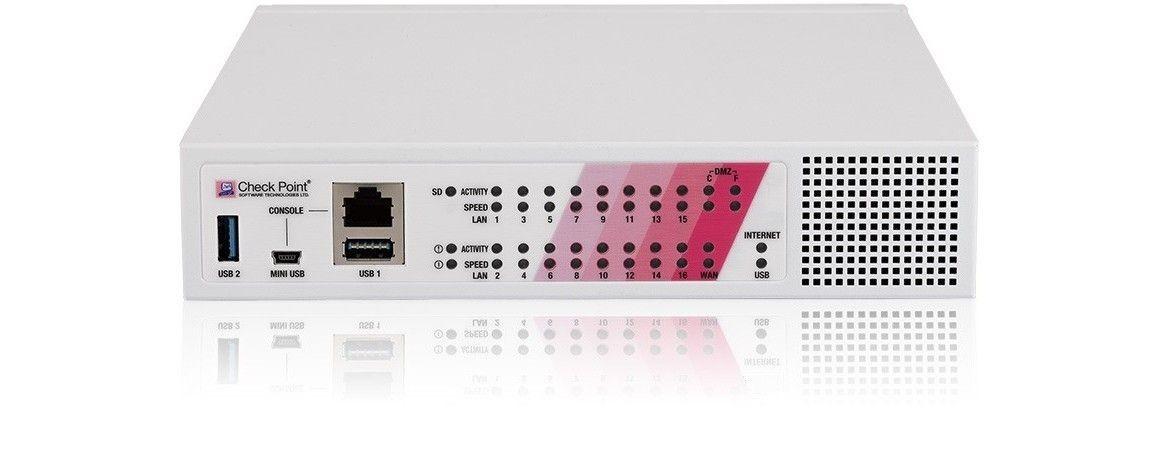 Check Point 790 Next Generation Threat Prevention & SandBlast (NGTX 3lata) Appliance, Wired