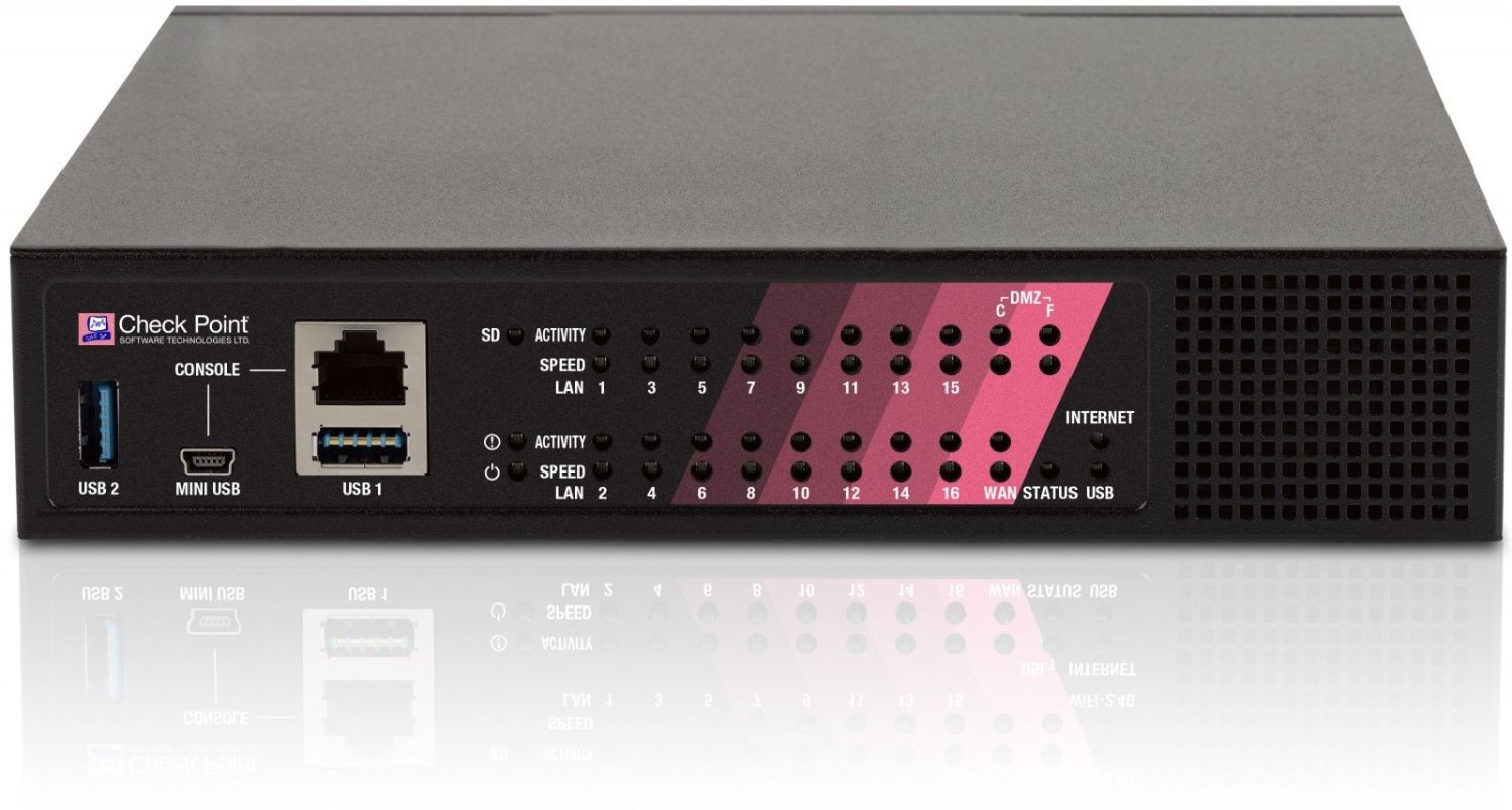 Check Point 1470 Next Generation Threat Prevention Appliance, Power over Ethernet (PoE)