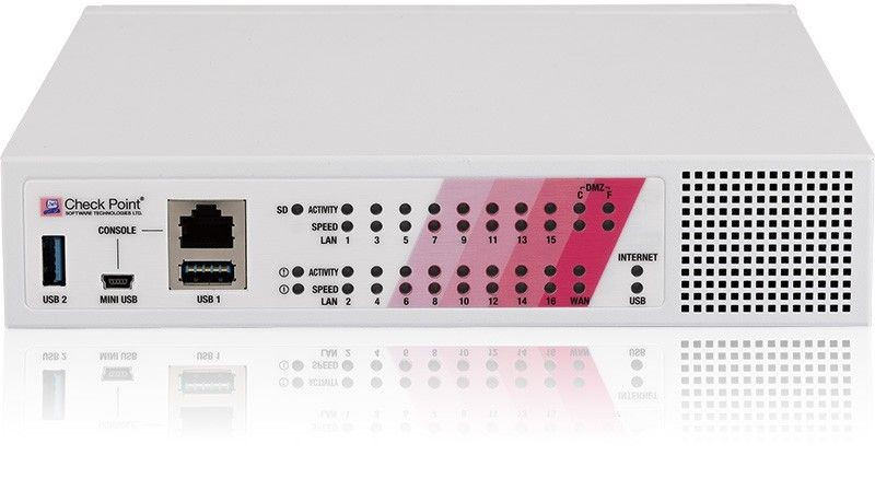 Check Point 790 Next Generation Threat Prevention & SandBlast (NGTX) Appliance, Power over Ethernet (PoE)