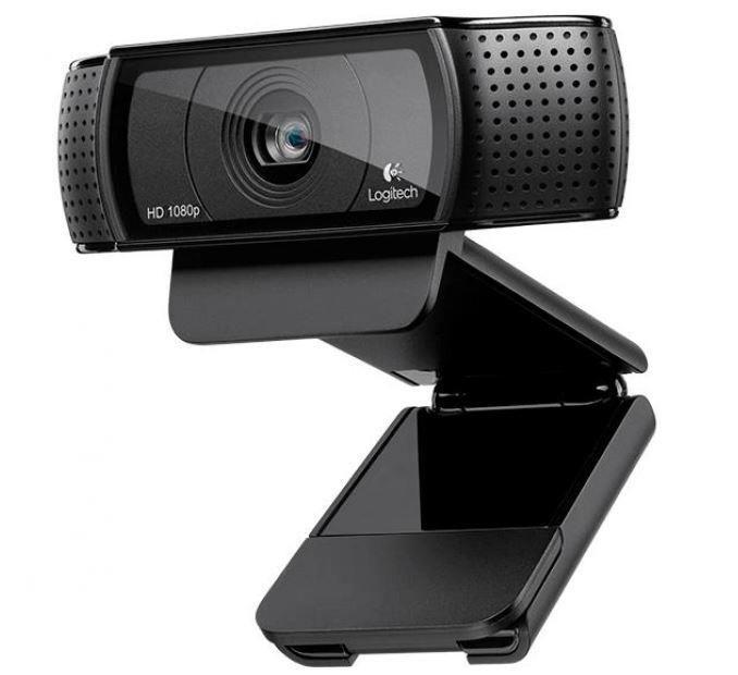 Logitech 960-001252 Kamera internetowa Pro HD C920s - USB - EMEA