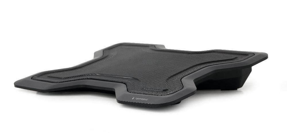 Gembird NBS-1F15-02 podstawka do notebooka/laptopa 15,6, 1x wentylator LED, czarna