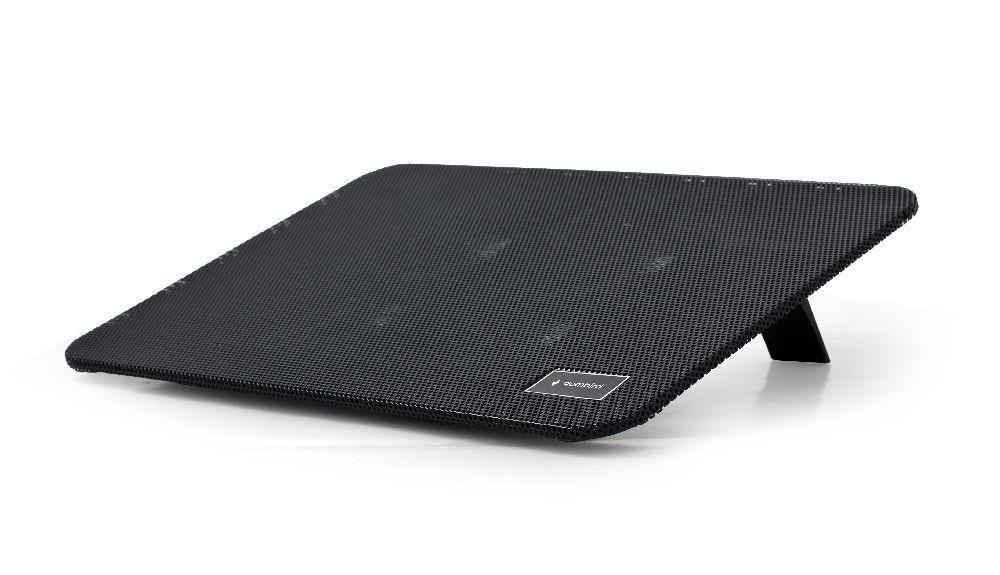 Gembird NBS-4F15-01 podstawka do notebooka/laptopa 15,6, 4x wentylator LED, czarna