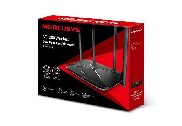 MERCUSYS Router Mercusys AC12G AC1200 1xWAN 3xLAN-1Gb