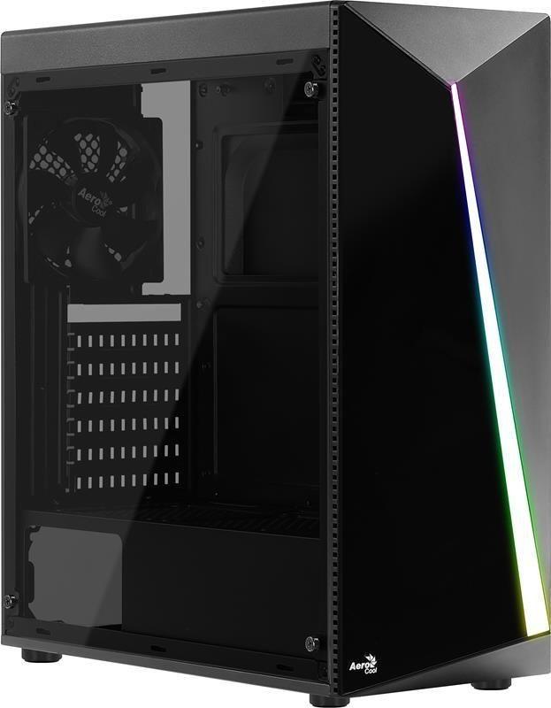 Aerocool Obudowa SHARD PGS USB 3.0 Czarny RGB