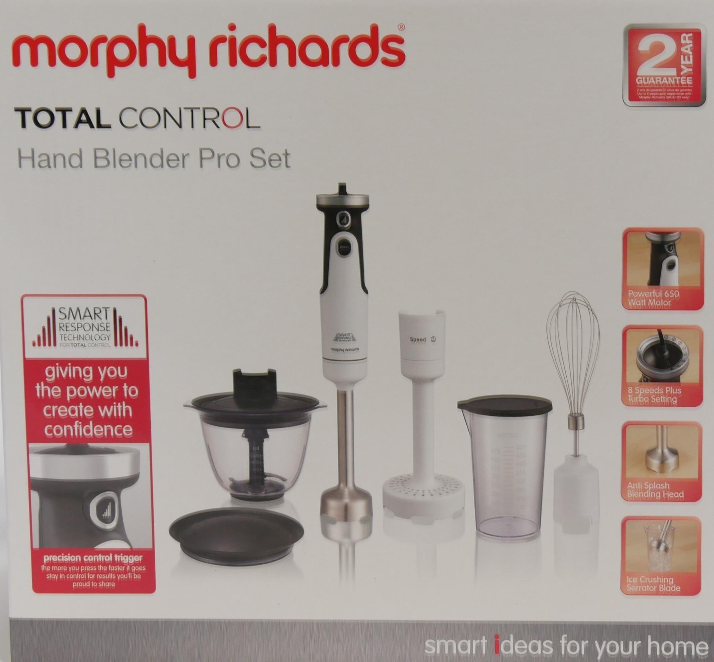 Morphy Richards Blender Total Control biały 402052