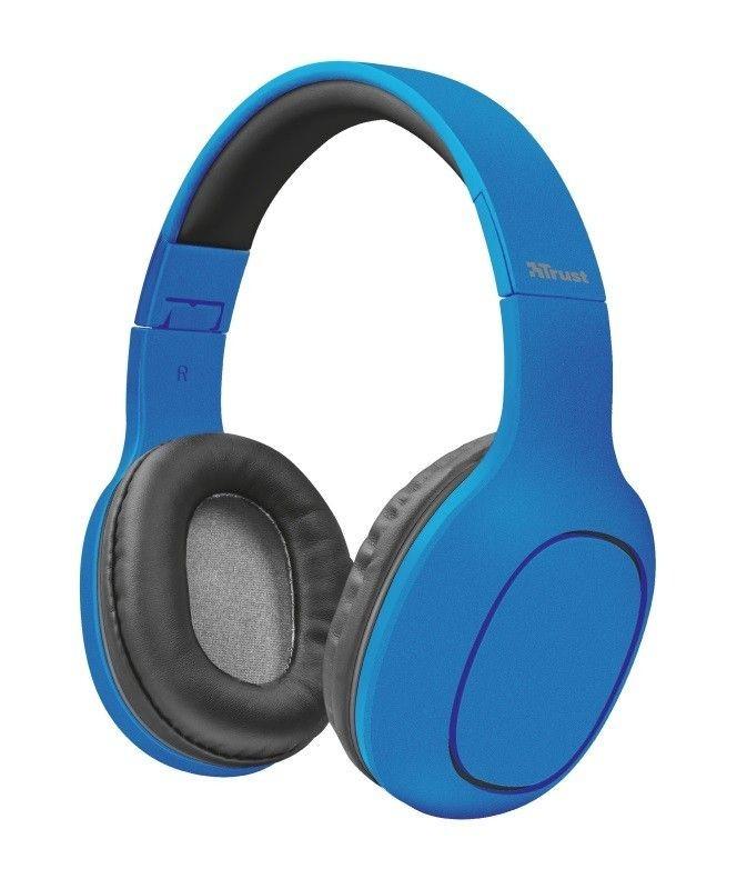 Trust Słuchawki Bluetooth Dona niebieskie