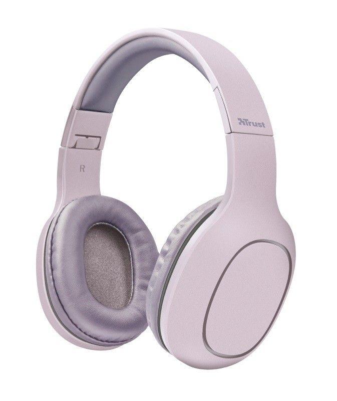 Trust Słuchawki Bluetooth Dona różowe