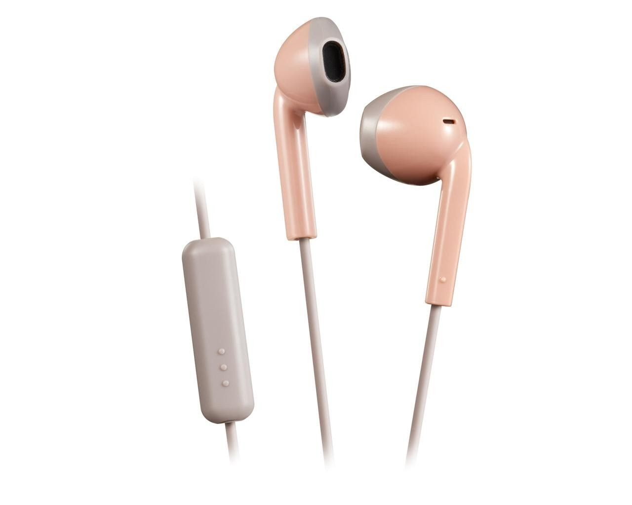 JVC Słuchawki HA-F19M różowe